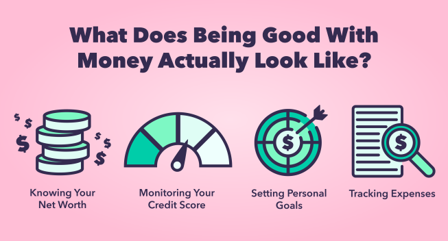 What does being good with money look like?